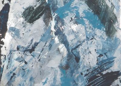 33/12 Eiskristalle auf Alucobond